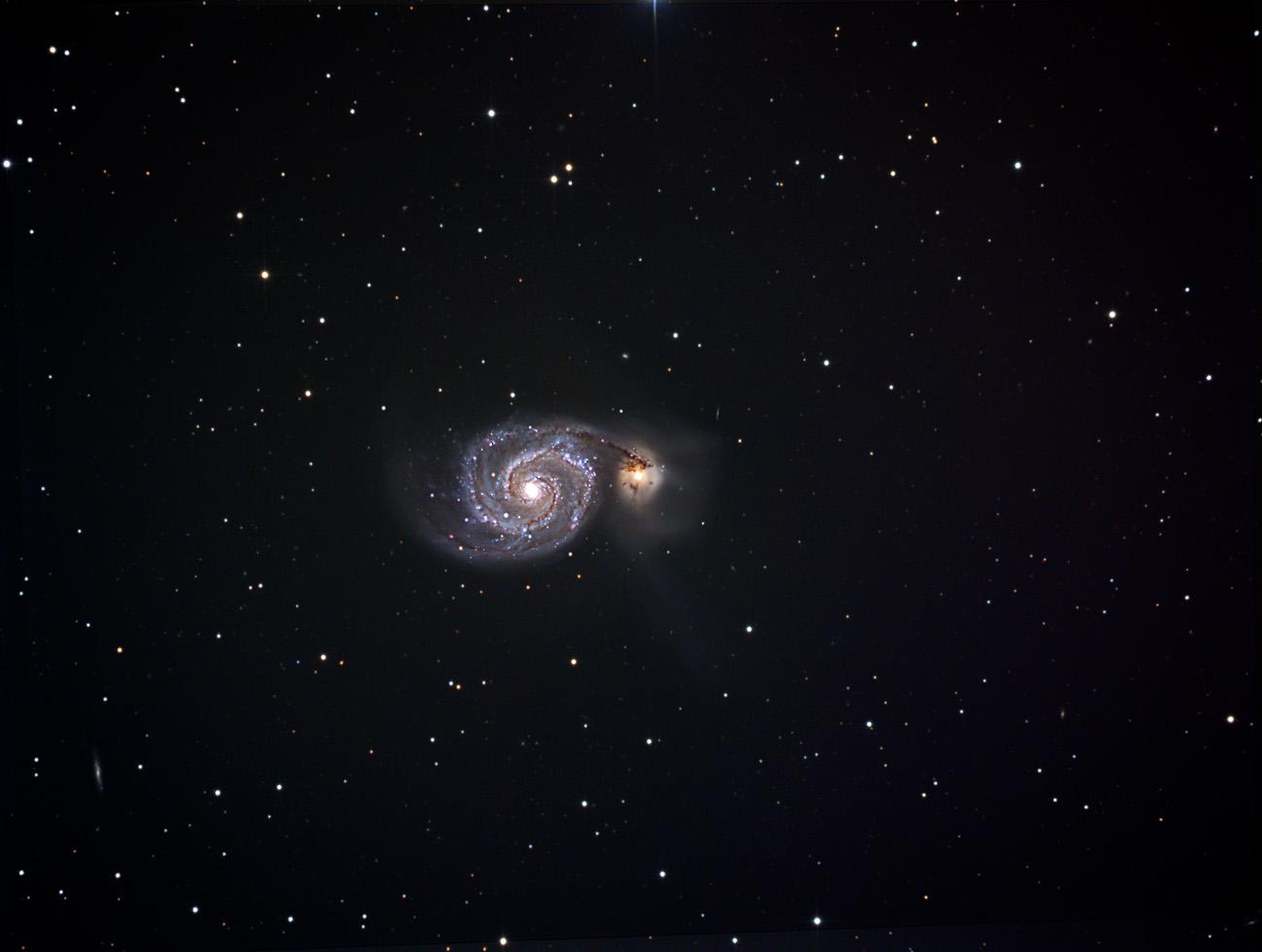 M51 Whirlpoolgalaxie