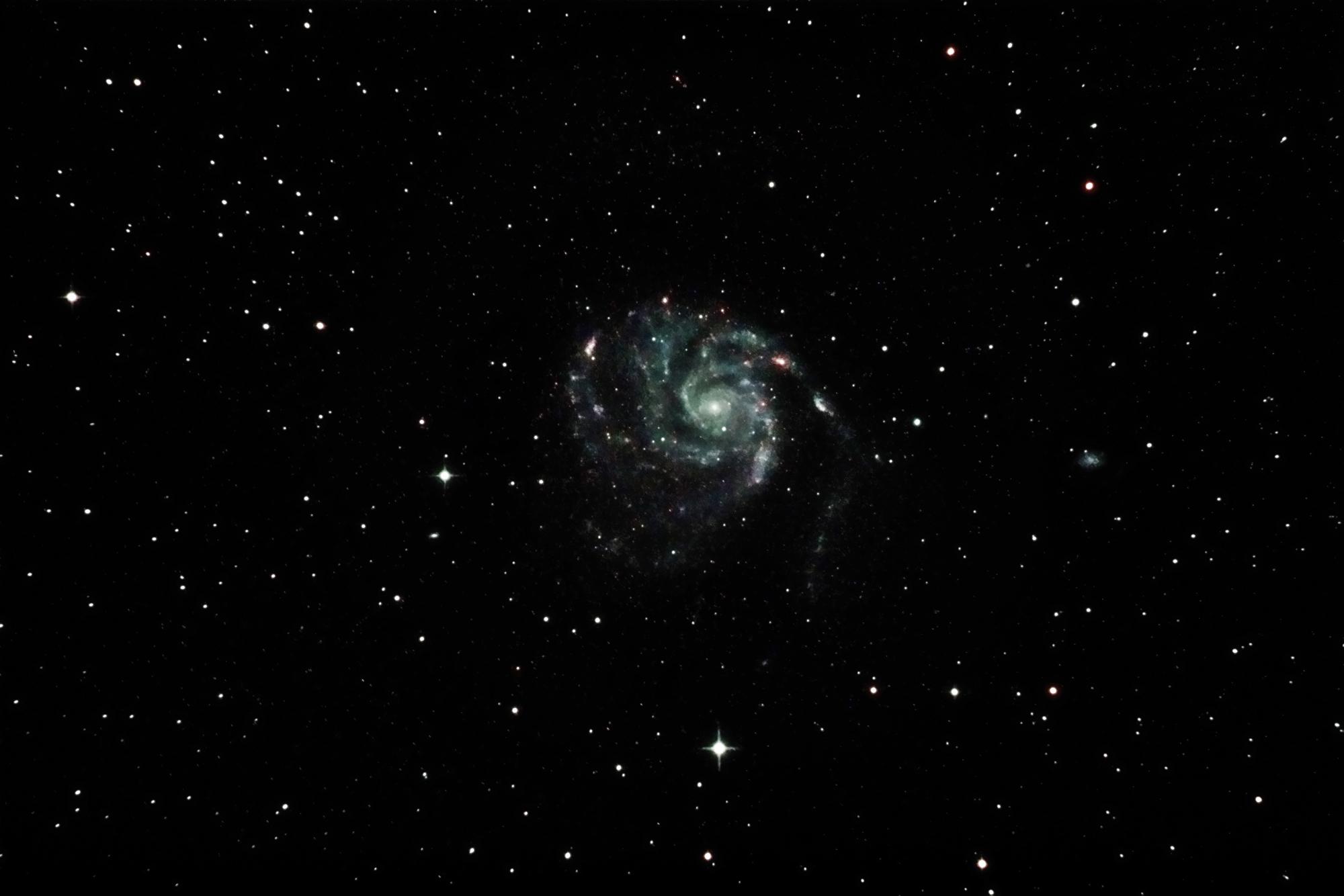 M101 Feuerradgalaxie