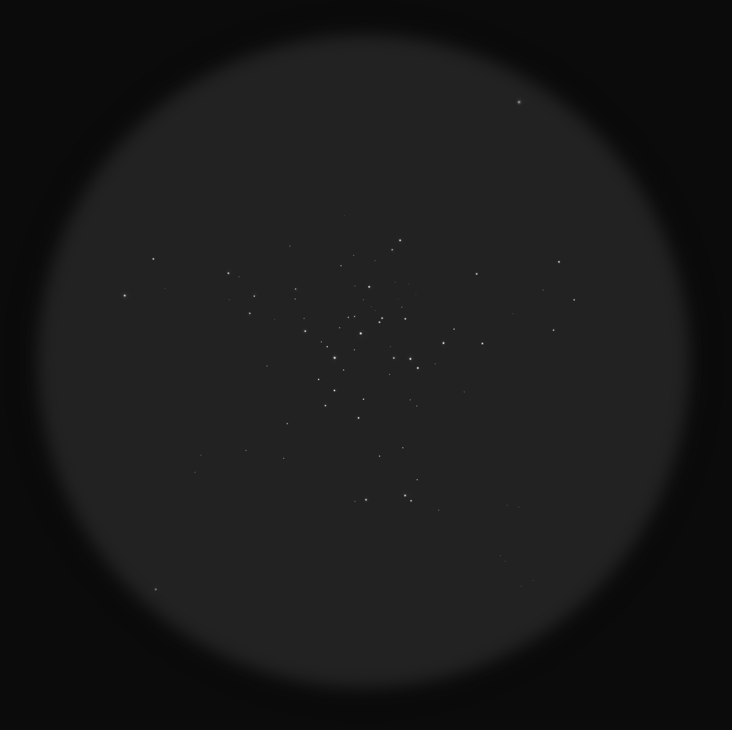 M36 Pinwheel Cluster (Zeichnung)