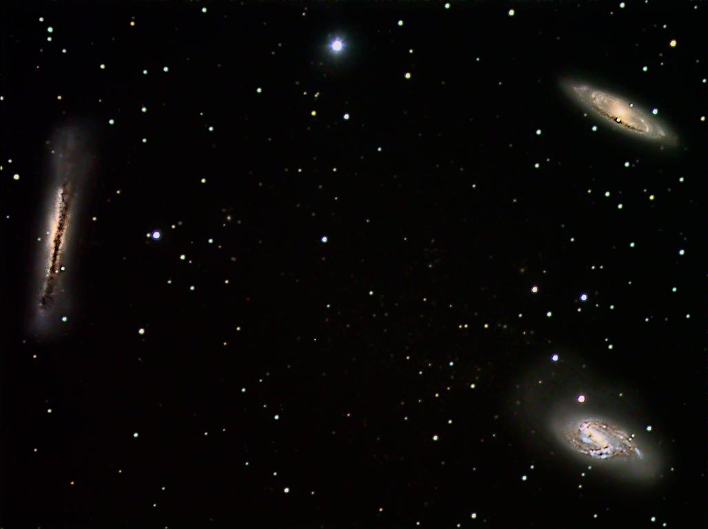 M66-Gruppe - Leo Triplet