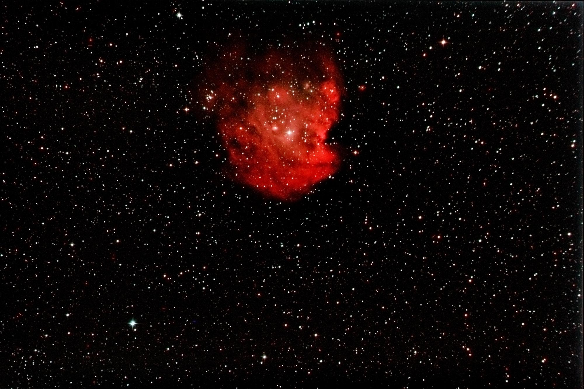 NGC 2175 Affenkopfnebel