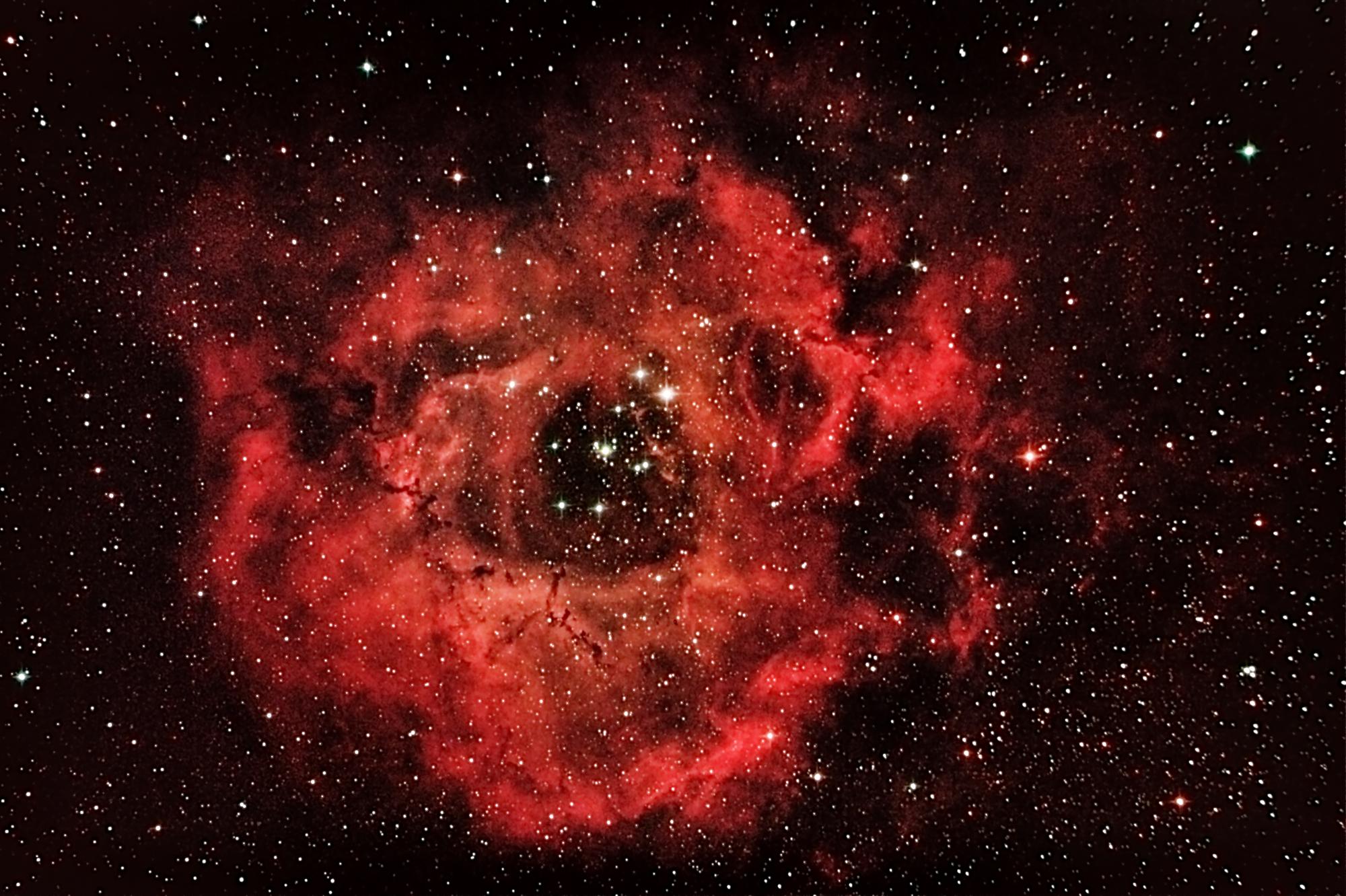 NGC 2239 Rosettennebel