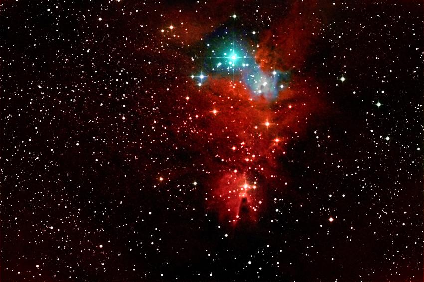NGC 2264 Weihnachtsbaumhaufen