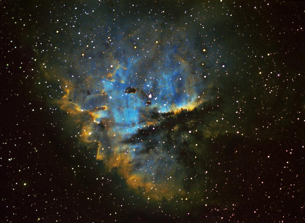 NGC 281 Pacman-Nebel