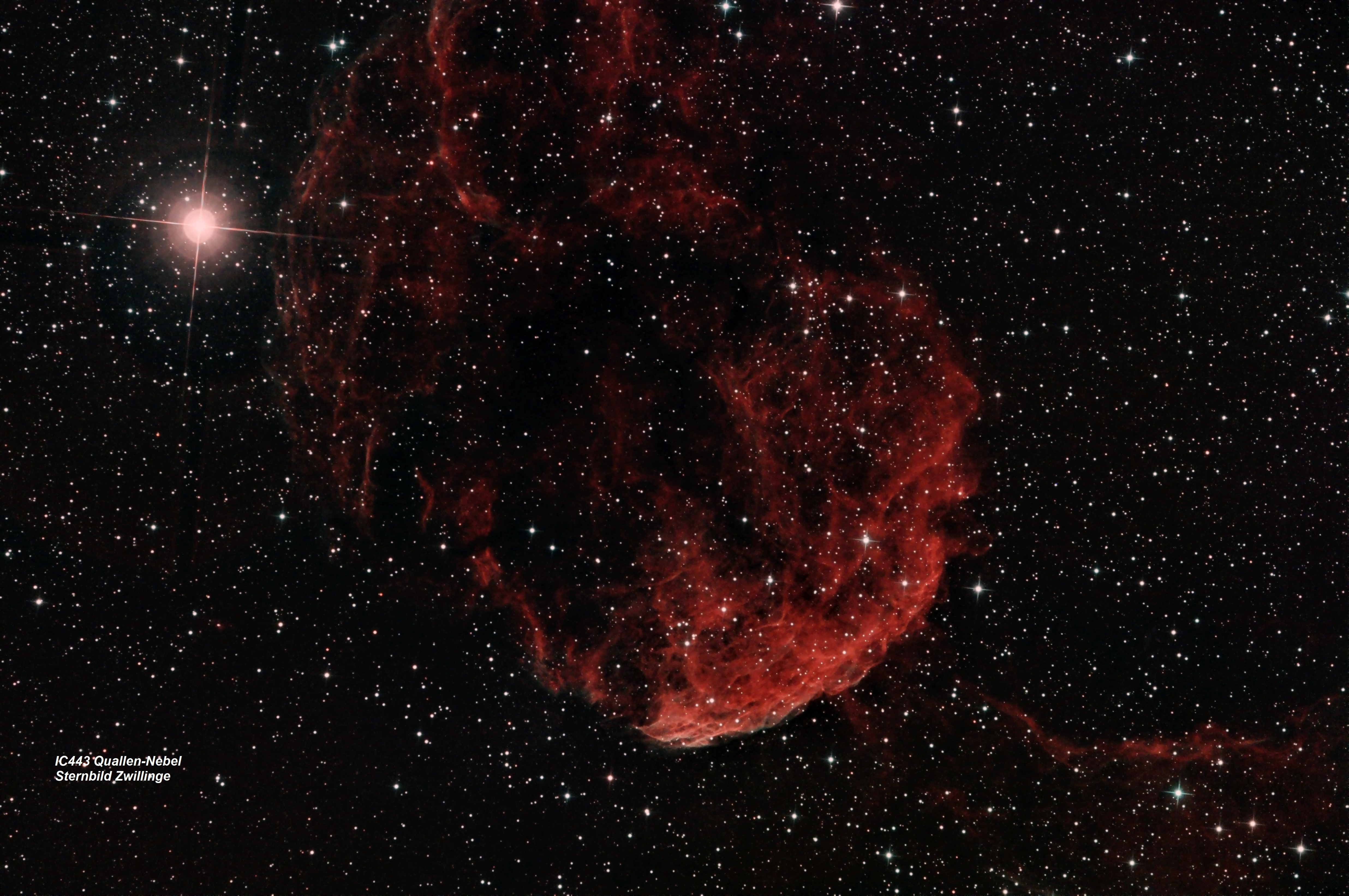IC 443 Quallennebel