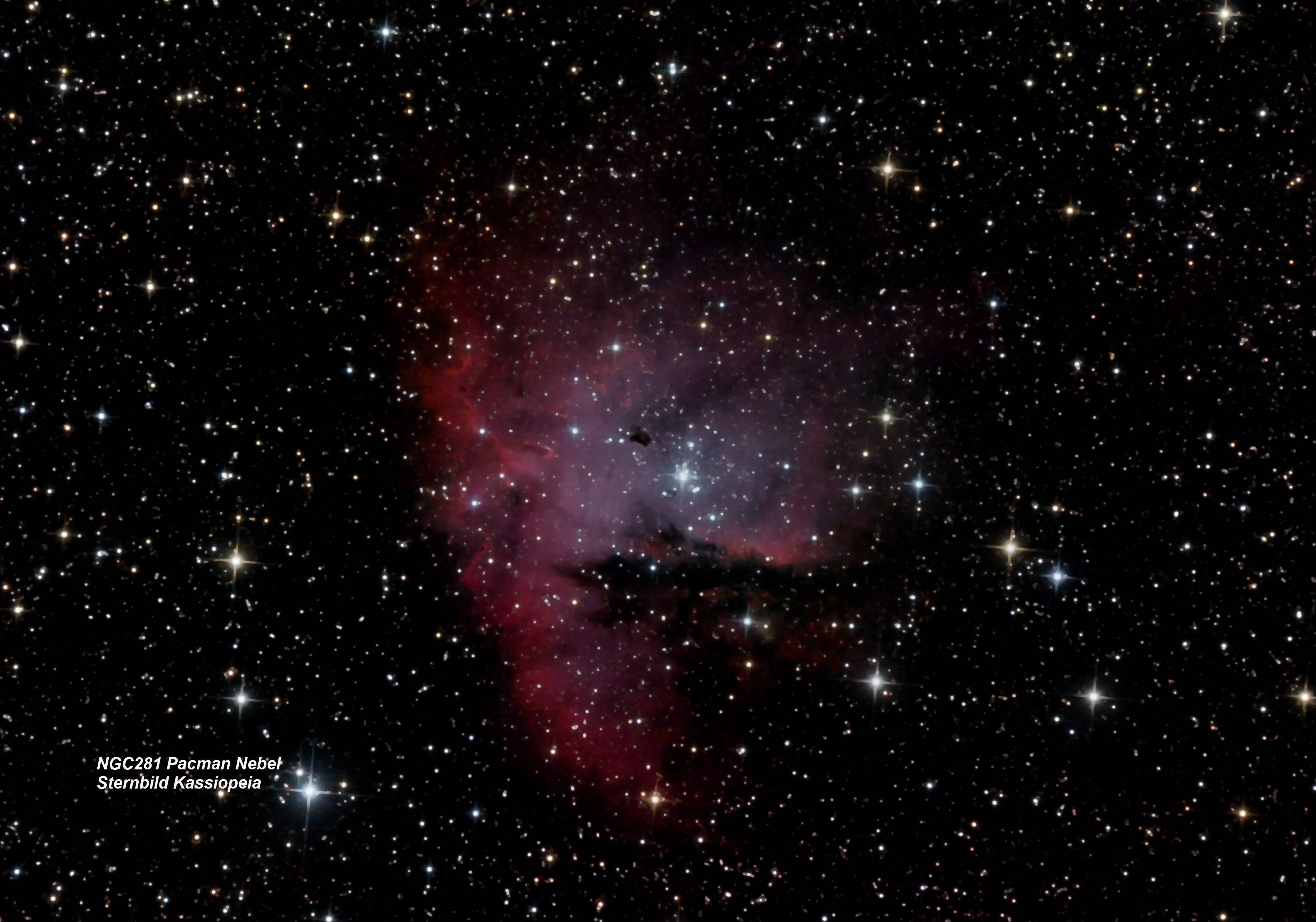 NGC 281 Pacman Nebel