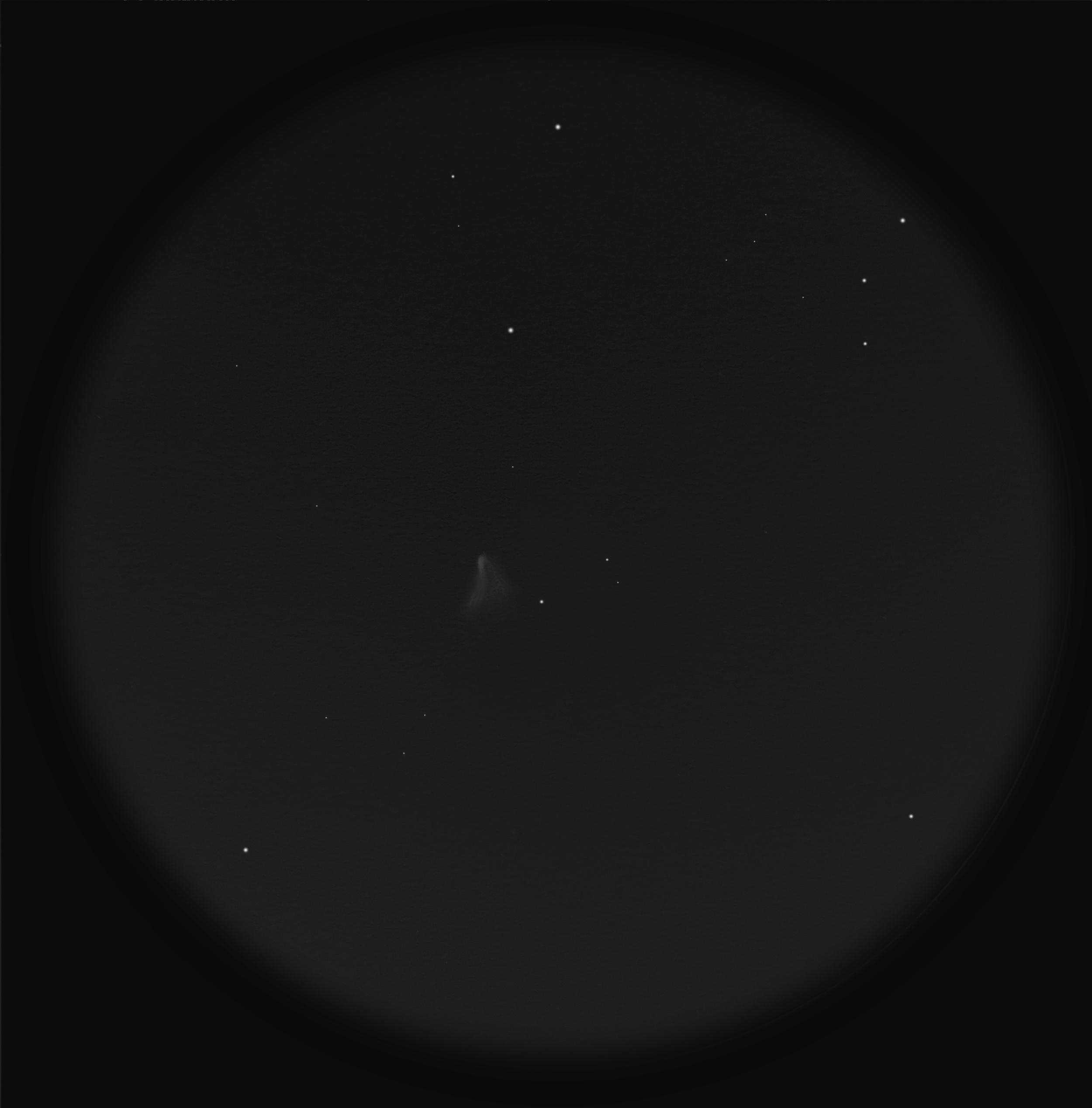 NGC 2261 Hubble's veränderlicher Nebel (Zeichnung)