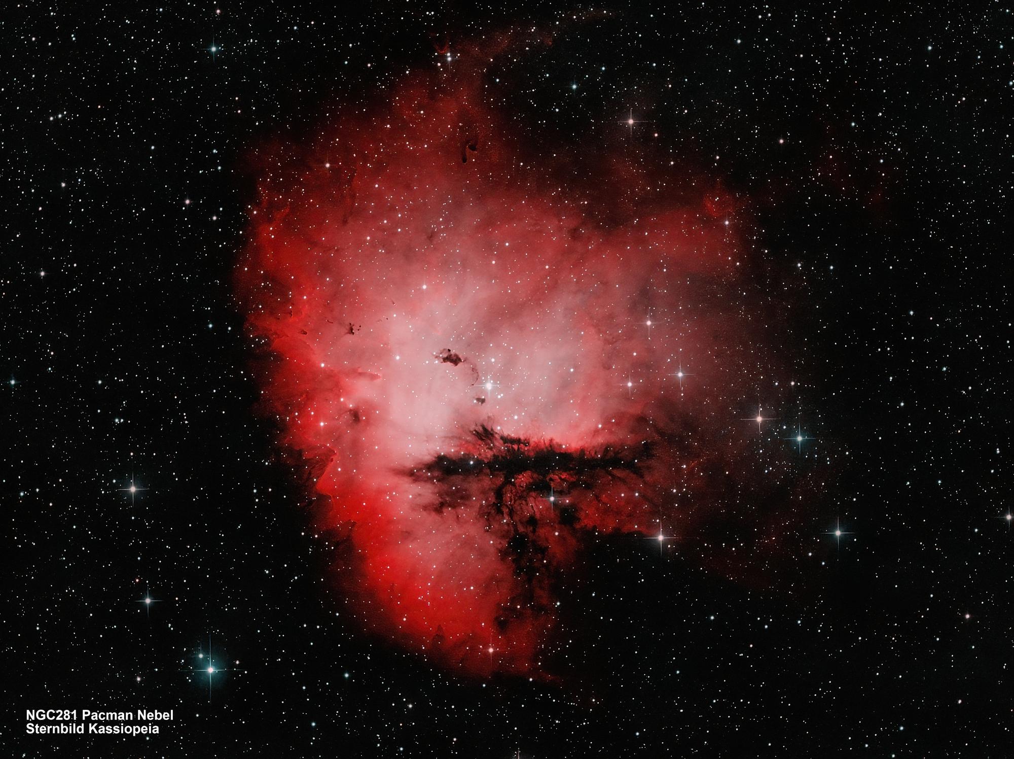 NGC281 Pacman-Nebel