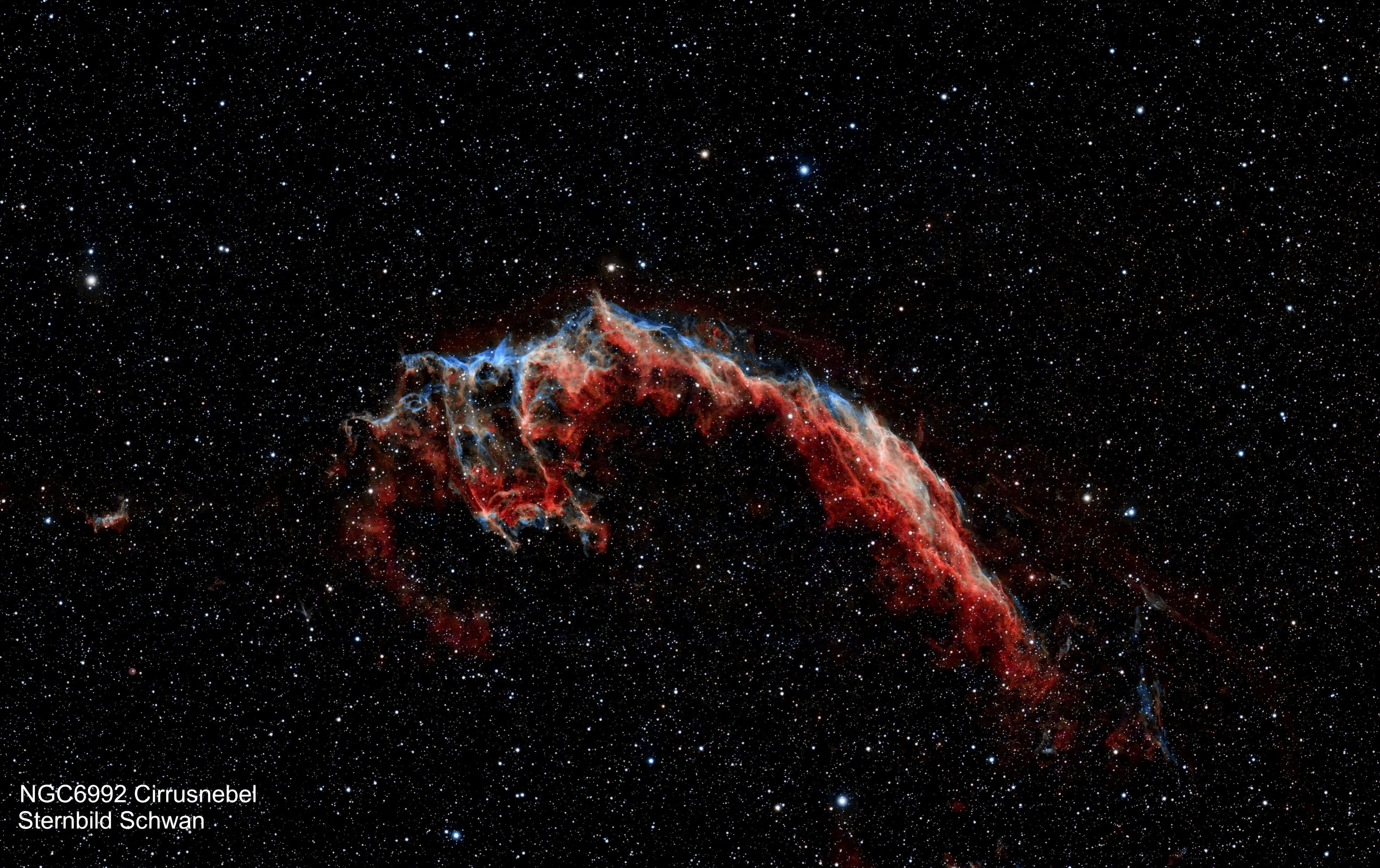 NGC 6992 Cirrusnebel