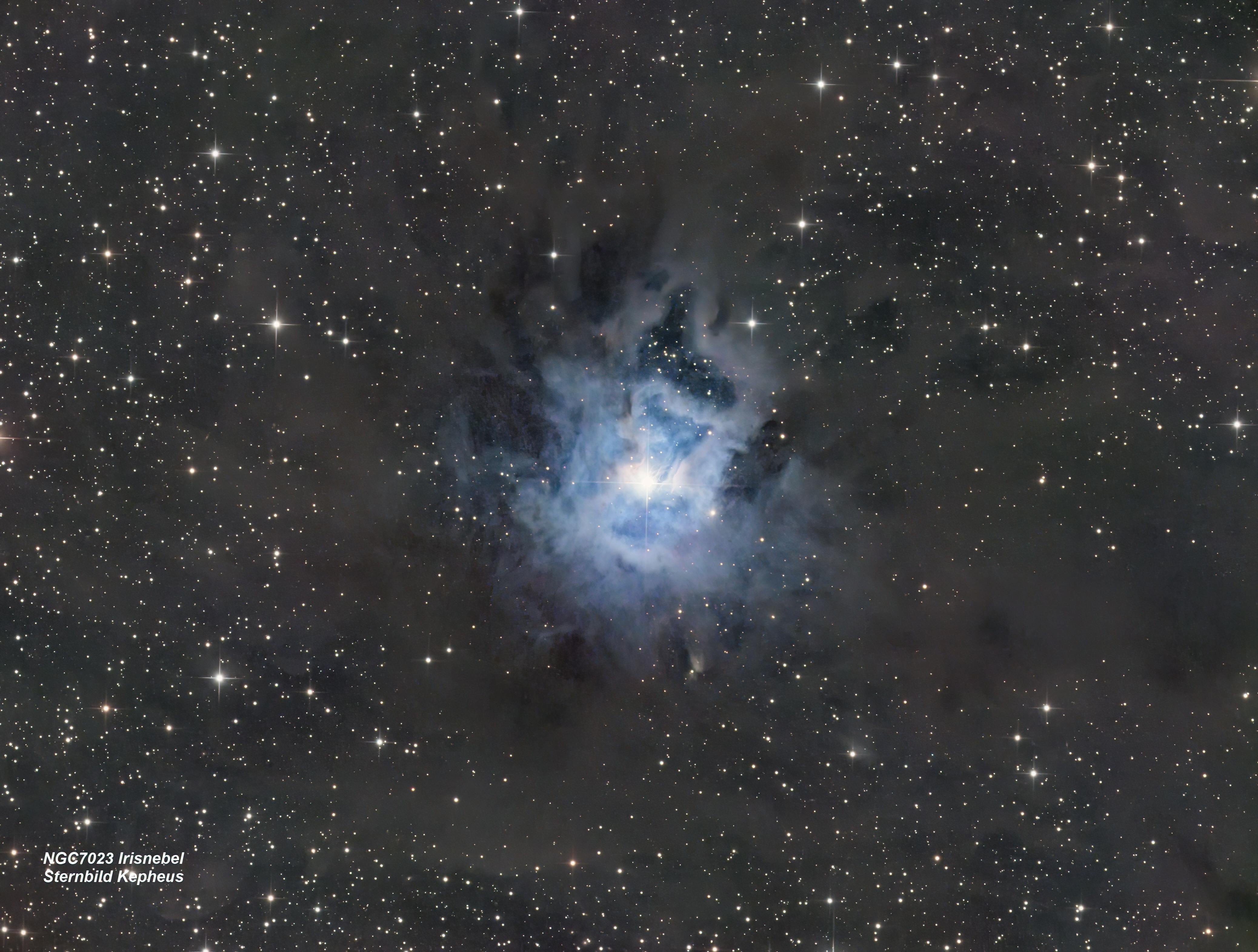 NGC 7023 Irisnebel