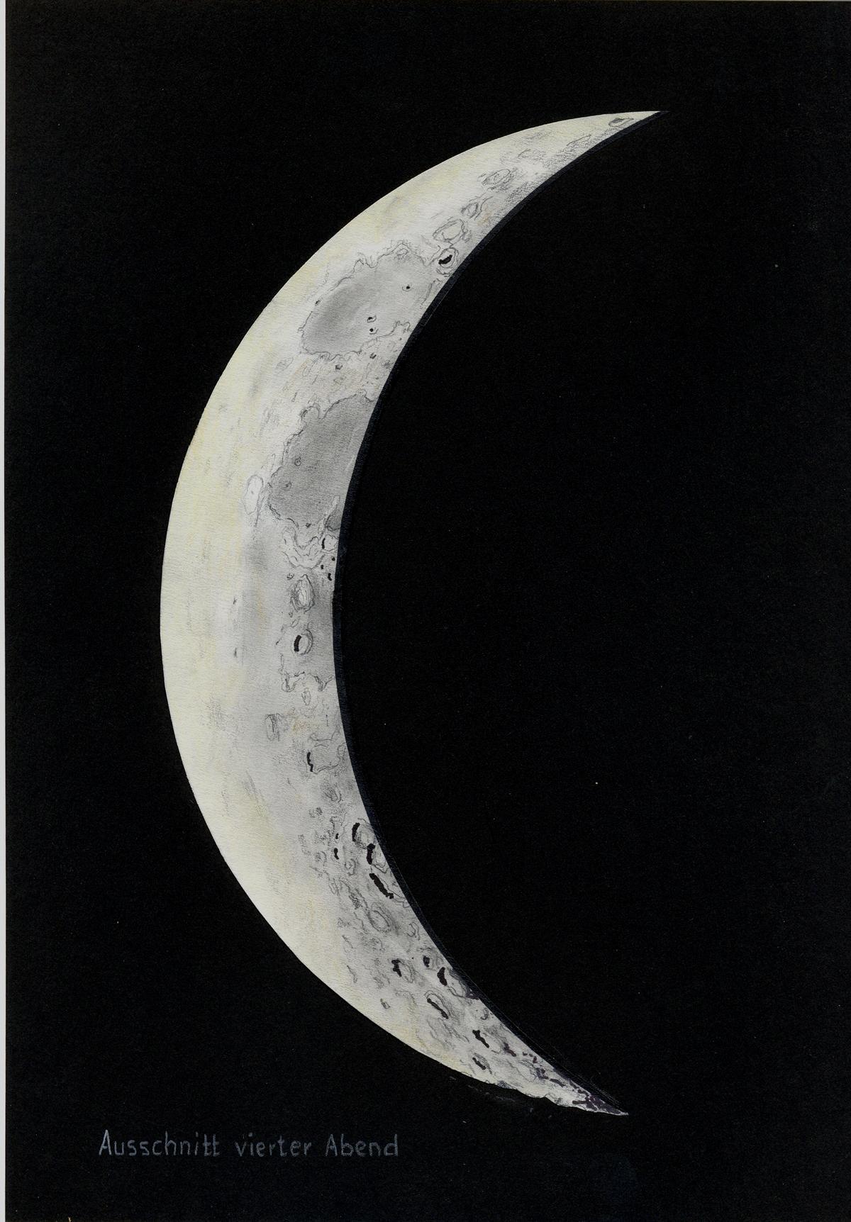 4. Abend Mond