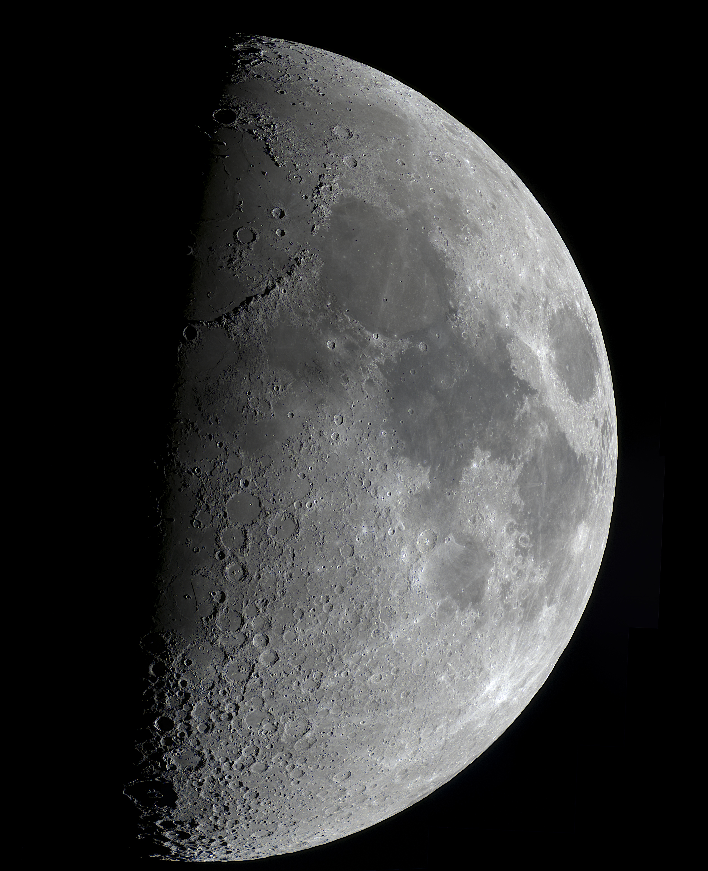 Mond 7.8 Tage (54,8% beleuchtet)