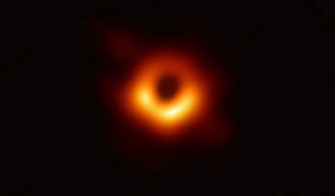 Schwarze Löcher ... das erste Bild @ Observatorium Ludwigshöhe