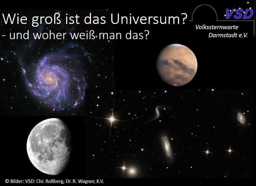 Wie groß ist das Universum – und woher weiß man das? (Streaming) @ Streaming